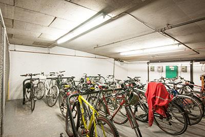 Aptus Benefits Bike Storage Room